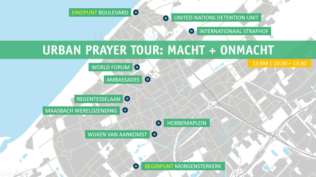 Urban Prayer Tour. Fiets uit je bubbel!